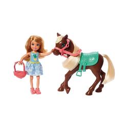 Mattel® Anziehpuppe Barbie Chelsea Puppe & Pony (blond)
