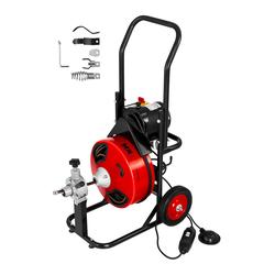MSW Trommel Rohrreinigungsmaschine - 390 W - Ø 25 bis 125 mm MSW-DRAIN CLEAN 23E