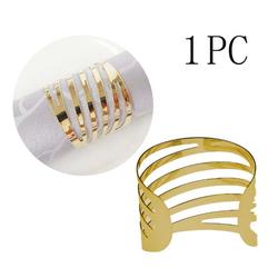 Masbekte Serviettenring, (1-tlg), 1 / 12 Serviettenringe Set, Esszimmer, Formal Dekoration, Metall, Tisch Serviettenhalter