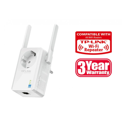 TP-LINK TL-WA860RE 300MBit/s WLAN Repeater mit Frontsteckdose