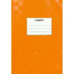Heftschoner A5 geprägt (Bast) orange