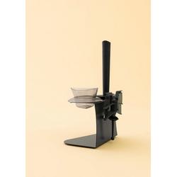 Leckerhelfer - automatisch Lecker Küchenhelfer-Set Zubeör Halter für Thermomix von Leckerhelfer TM5 grau
