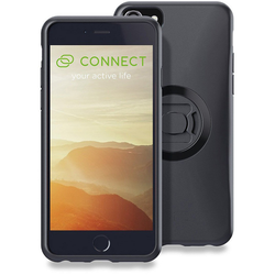 SP Connect iPhone 8+/7+/6s+/6+ Phone Case Set, black, Größe One Size