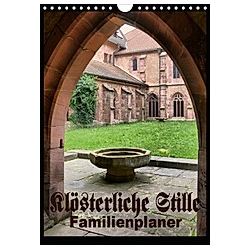 Klösterliche Stille - Familienplaner (Wandkalender 2021 DIN A4 hoch)