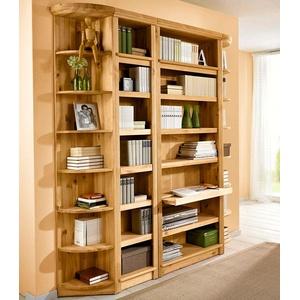 Home affaire Bücherregal Soeren, in 2 Höhen, Tiefe 29 cm braun Standregale Regale