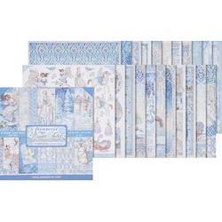 Stamperia Motivpapier Winter Tales, 10 Bogen, 30,5 x 30,5 cm