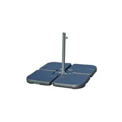 Outsunny Schirmhalter Behälter für Bodenkreuz von Sonnenschirmständern