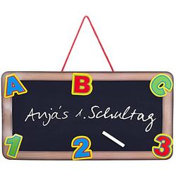 "3D-Schild ""ABC"", 55 x 28 cm"