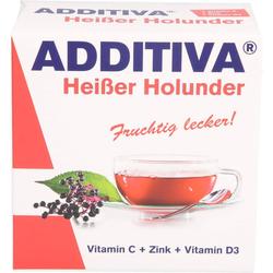 ADDITIVA heißer Holunder Pulver 100 g
