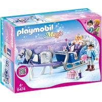 Playmobil Magic Schlitten mit Königspaar 9474