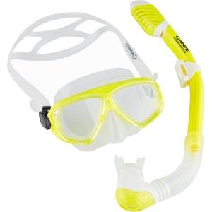 CAMPZ Tauch-Set Maske + Schnorchel Kinder gelb/transparent  2021 Schwimmzubehör & Training gelb, transparent