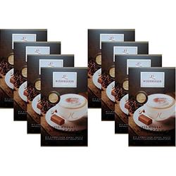 Niederegger Kaffeepulver Nuss Nougat Cappuccino 220g 8er Pack