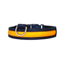 PRECORN Hunde-Halsband Hunde Leuchthalsband LED Halsband Hundehalsband Hunde-Halsband