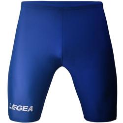 Rajstopy piłkarskie Legea Corsa niebieskie - S