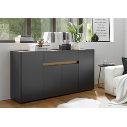 INOSIGN Sideboard CiTY Sideboard 51, im modernen Design grau