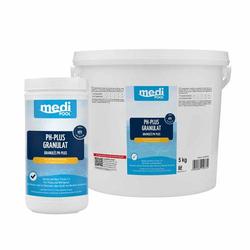mediPOOL pH-Plus Granulat, pH Heber, pH Regulator, Wasserpflege, Chlorgranulat - Inhalt:5 kg
