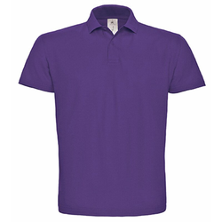 Polo ID.001 / Unisex | B&C Purple XS