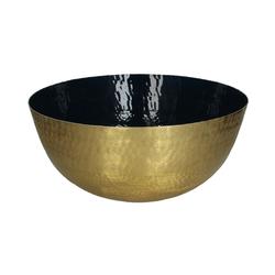 Schale gold/blau
