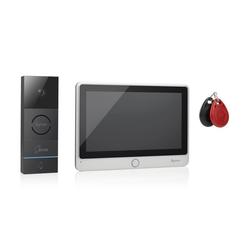Video-Gegensprechanlage 7 Zoll Touchscreen 2 Bildschirme