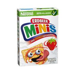 NESTLE ERDBEER MINIS Cerealien 375g