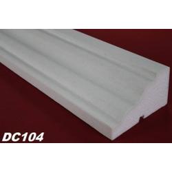 DC104 Fensterbankprofil Fenster Zierprofil 145x80mm Fassadenprofil Fassadenstuck Profil Leiste 200cm