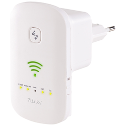 Dualband-WLAN-Repeater, Access Point & Router, 1.200 Mbit/s, WPS-Taste