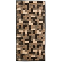 Möve Modernism Rechtecke Handtuch (50x100cm) brown