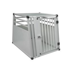 Nobby Aluminium Hundebox Auto, Einzelbox, B x T x H: 63 x 82 x 66 cm