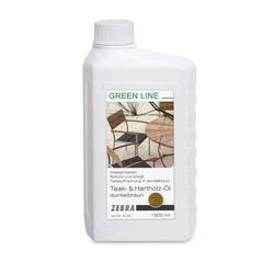 Zebra greenline Teaköl dunkelbraun, 1000 ml
