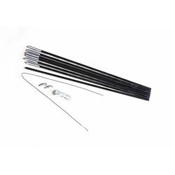 Fiberglasstange 4 m x 7,9 mm 7 Segmente