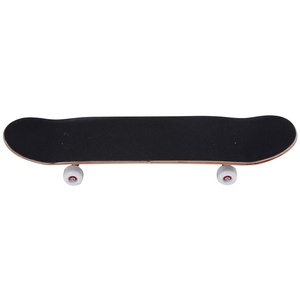 GOPLUS Skateboard Komplettboard Mini Cruiser Funboard Ahornholz 79 x 20cm (schwarz)