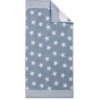 Handtuch 2 x 50 x 100 cm hellblau