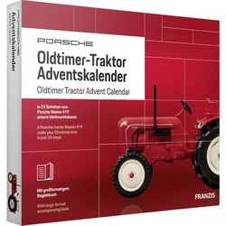 Franzis Verlag Porsche Oldtimer-Traktor Adventskalender Adventskalender ab 14 Jahre