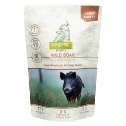 isegrim® Roots FOREST Wildschwein pur, 35 x 410 g, Hundefutter