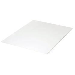 VBS Moosgummi, 30 cm x 40 cm weiß