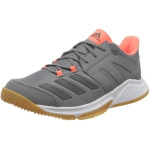 adidas Herren Essence Handballschuh, Grey Grey Signal Coral, 38 2/3 EU