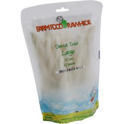 Farm Food Dental Twist L - 20 cm - 10 stuks  2 Zakken