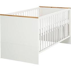 Kombi-Kinderbett, 70x140 cm Finn weiß Gr. 260 x 260
