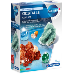Clementoni - Galileo - Kristalle selbst züchten - Mini-Set