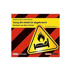 Sorry  Ihr Hotel ist abgebrannt - Hörbuch
