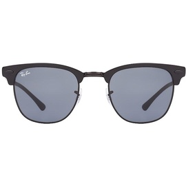 Ray Ban Clubmaster Metal RB3716 matte black / classic blue