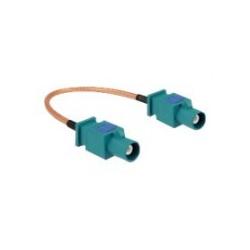 Delock Antennenkabel FAKRA Z-Anschluss S bis S 15 cm Koax RG-316 (89662)