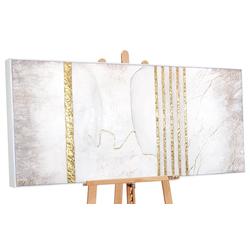 YS-Art Gemälde Goldener Marmor DL010