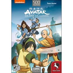 Avatar - Der Herr der Elemente (Team Avatar). Puzzle 500 Teile