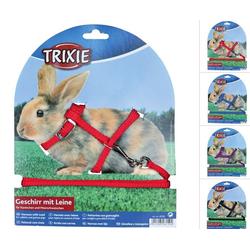 TRIXIE Kaninchengeschirr mit Leine