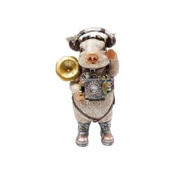 KARE Dekoobjekt Deko Figur Pig Musician
