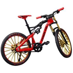 XHXseller Vintage Kids Bike, Miniatur Finger Mountain Riding Bike Modell Spielzeug Freestyle Bike, für Jungen Mädchen Kinder Kinder, einfache Montage kreative Weihnachten Geburtstagsgeschenke