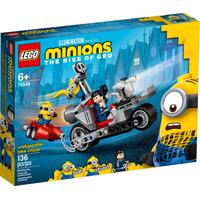Lego Minions Unaufhaltsame Motorrad-Jagd 75549