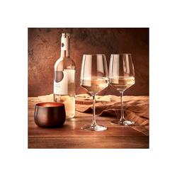 BUTLERS Weißweinglas WINE & DINE Weißweinglas 520 ml, 6er-Set, Kristallglas