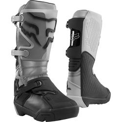 Fox Motocross-Stiefel Comp X Grau
